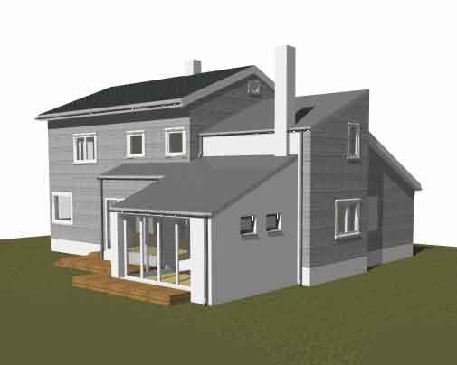 Tilbygg hus pris